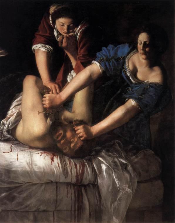 Artemisia Gentileschi, Judith et Holopherne