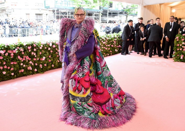NEW YORK, NEW YORK - MAY 06: Hamish Bowles attends The 2019 Met Gala Celebrating Camp: Notes on Fashion at Metropolitan Museum of Art on May 06, 2019 in New York City. Jamie McCarthy/Getty Images/AFP