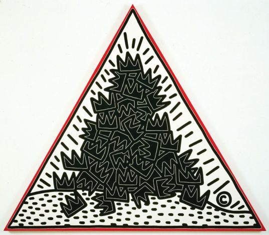 Keith Haring, A Pile of Crown