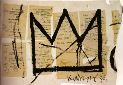 Jean Michel Basquiat Crown 1983