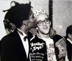 Jean-Michel Basquiat et Keith Haring